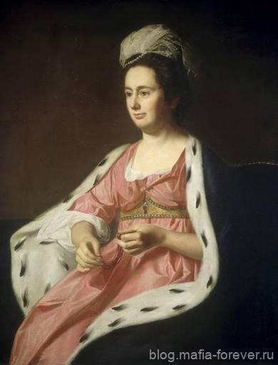 «Абигейл Смит Бэбкок (госпожа Адам Бэбкок)», 1774 г.