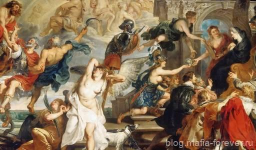Смерть Генриха IV и провозглашение регентства