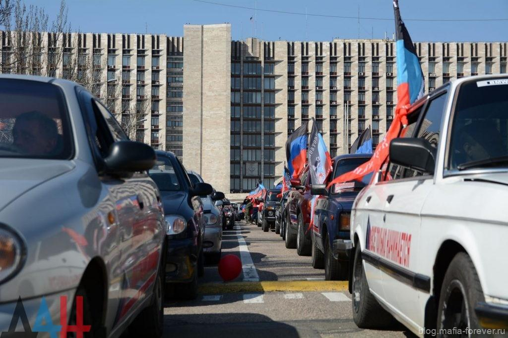 Байкеры в Донецке