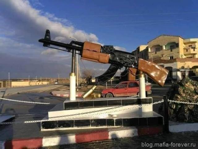 Памятник АК-47