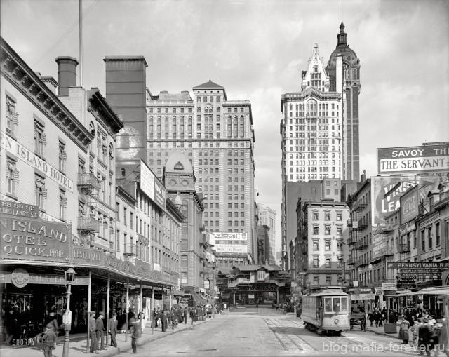 Нью-Йорк, 1920 год