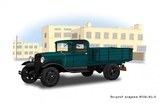 17 фактов о грузовике ГАЗ-АА