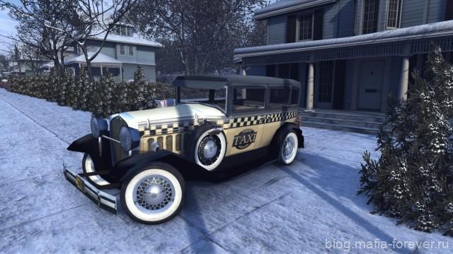Falconer Yellowcar in Mafia 2