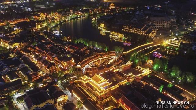 Вечерние виды древнего Тайэрчжуана
