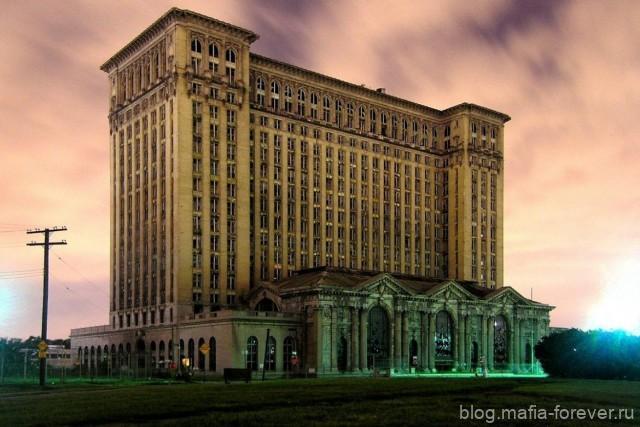 Детройт – город-призрак