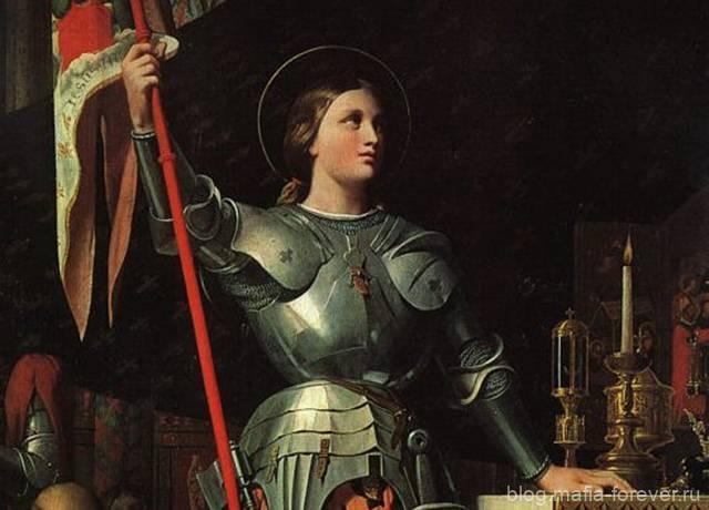 Jeanne d-Arc au sacre du roi Charles VII, dans la cathedrale de Reims (1854)