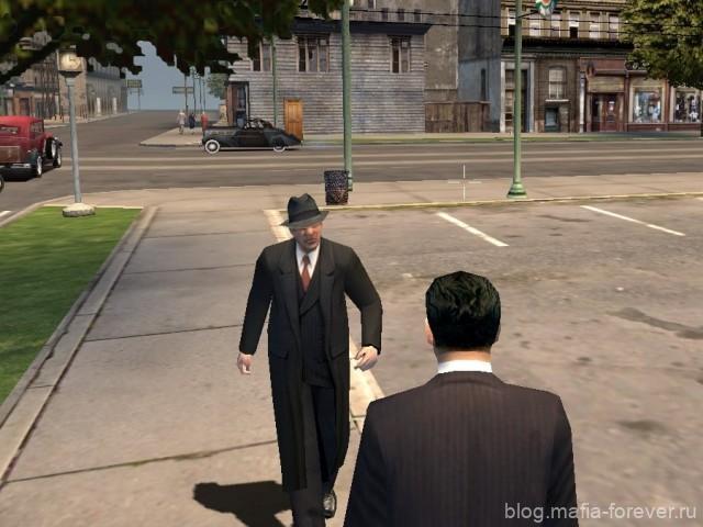 Уличный гангстер-одиночка