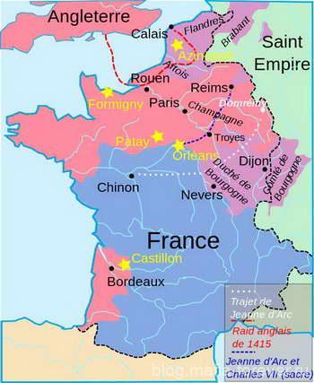 Франция к 1429 году