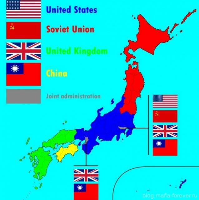 План США по оккупации Японии