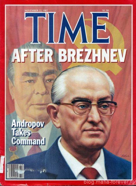 Обложка «Time» от 22 ноября 1982 года
