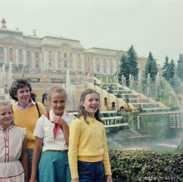 С мамой и подругой в Петербурге