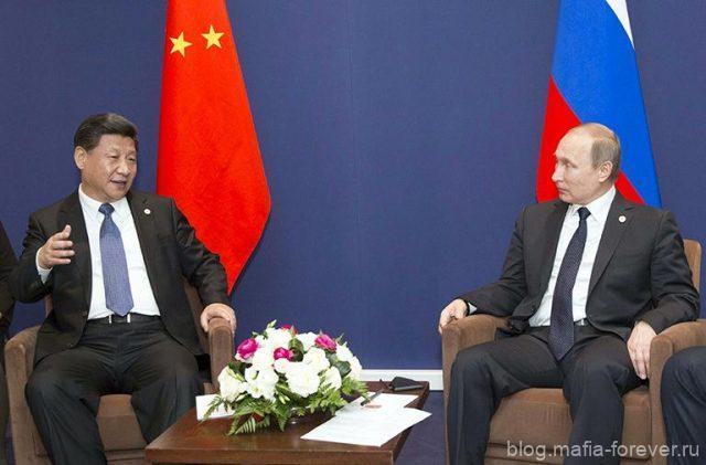 Си Цзиньпин с Путиным