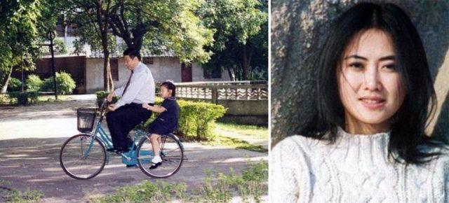 Си Цзиньпин с дочкой Си Минцзе