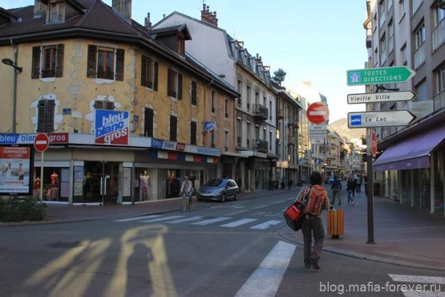 Типичные французские улицы