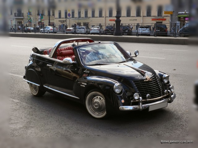 Уникальный Chrysler PT Cruiser