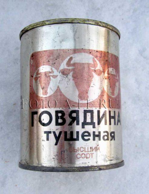 История русской тушёнки