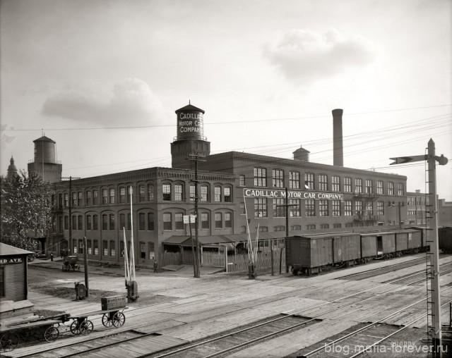 Завод Кадиллак в Детройте